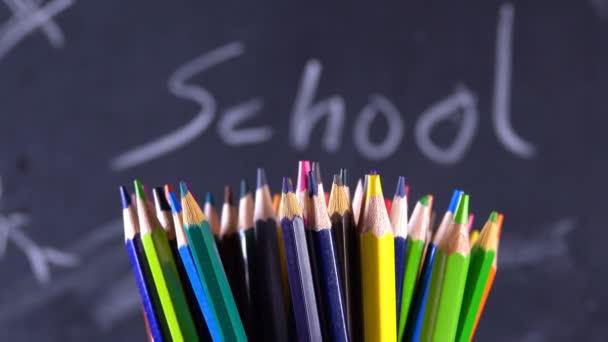 Iskolai felszerelés Színes ceruzák