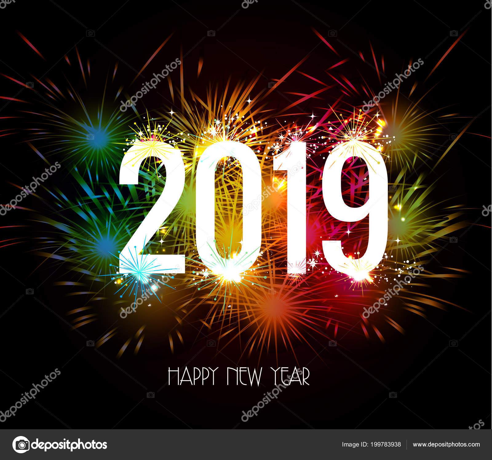 Foto Feliz Ano Novo 2017 Feliz Ano Nuevo 2019 Fuegos Artificiales