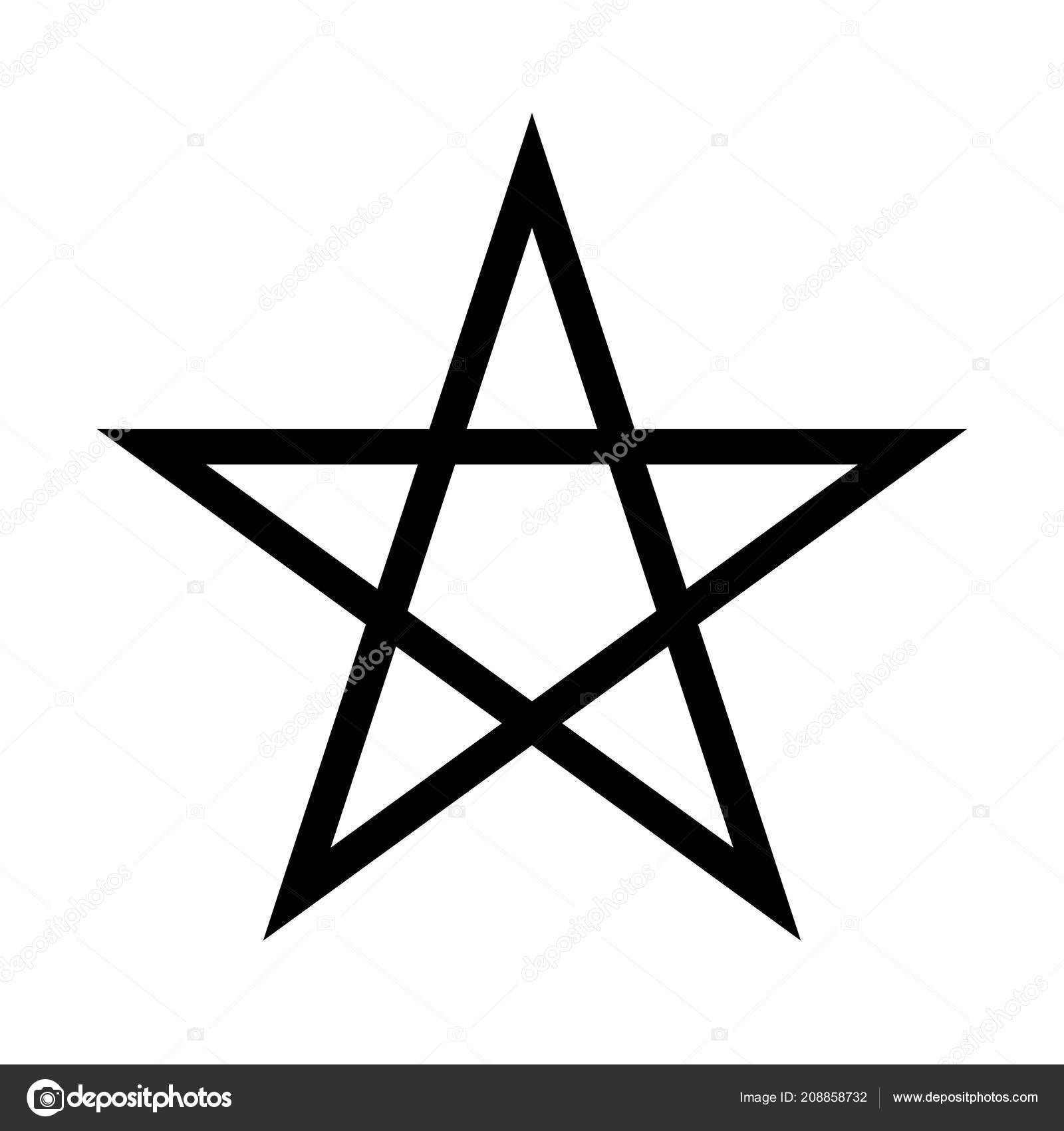 если на картинке пятиконечная звезда