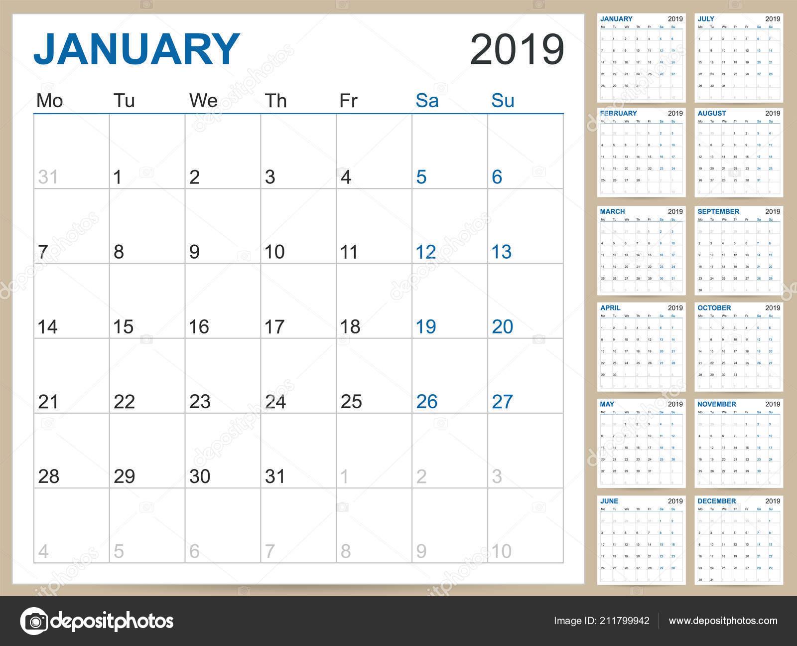 english planning calendar 2019 english calendar template year 2019