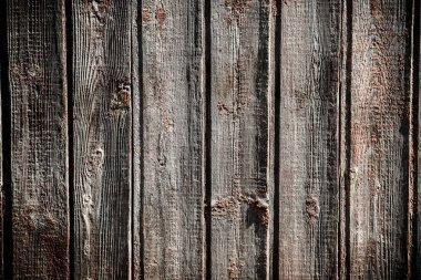 Old grunge dark wooden background