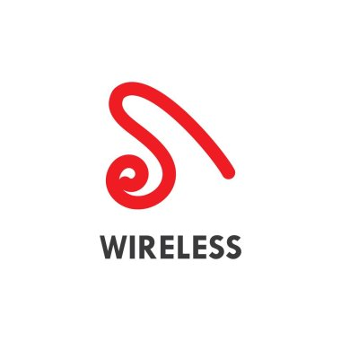 Wireless Logo Template vector illustration icon