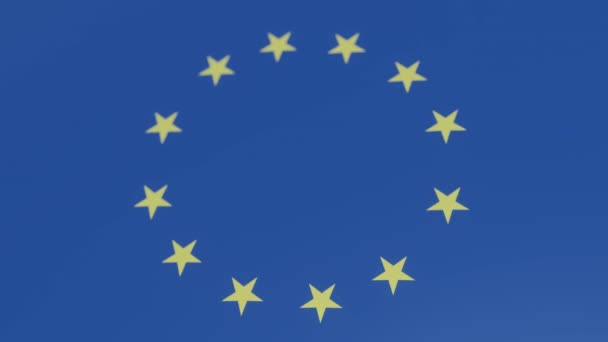 3d animation of BREXIT CONCEPT WITH DICES