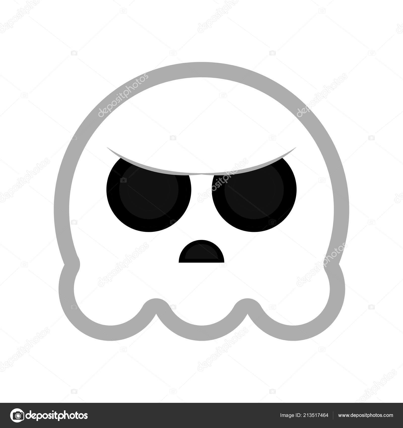 evil cartoon ghost - HD1600×1700