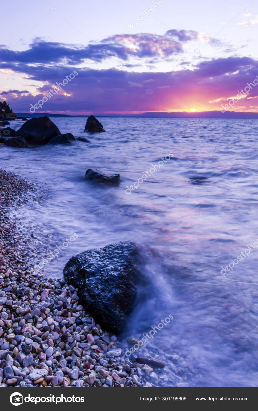 Morskoj Pejzazh Fotografiya Prirody Dlitelnaya Ekspoziciya Stokovoe Foto C Mutan7 301195606