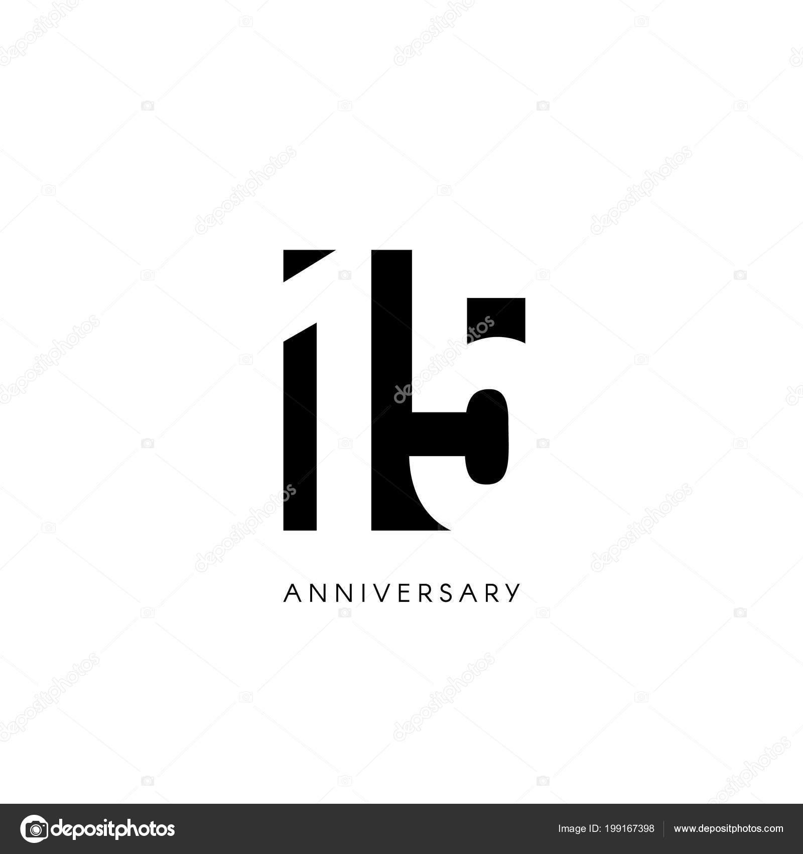 Fondo Invitacion Xv Años Quince Aniversario Logo
