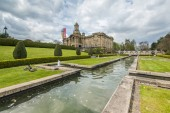 Fotografie cartwright hall situated in lister park along manningham lane in the heaton area of bradford