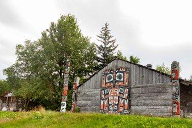 Tribal House in Haines, Alaska.