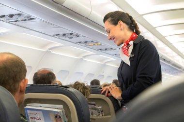 Eurowings flight attendant.