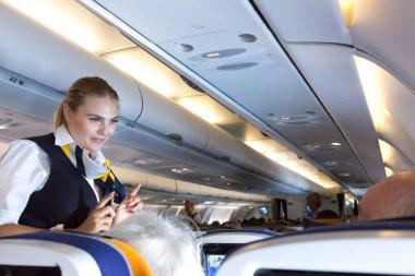 Lufthansa flight attendant