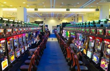 Korona slot machines in Kanazawa.