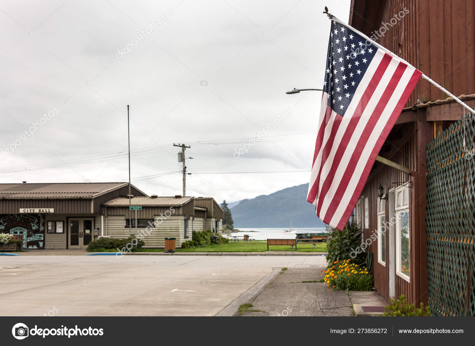 Usa Flag In Wrangell Alaska Stock Editorial Photo C Ruramos 273856272