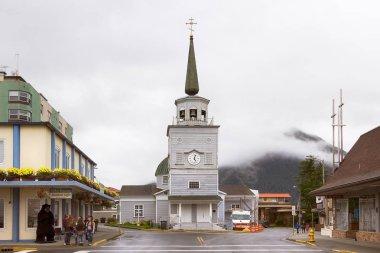 St. Michael's Cathedral at Sitka, Alaska.