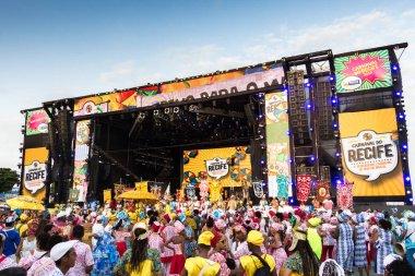 Carnival in Recife, Pernambuco, Brazil.