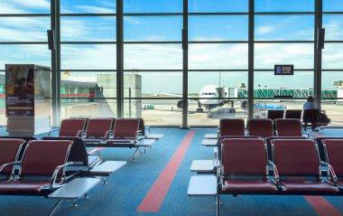 Ministro Pistarini International Airport, terminal C, Ezeiza, Buenos Aires.