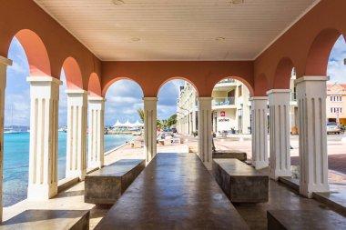 Interior of Plaza Machi Mimi, Kralendijk, Bonaire.
