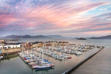 San Francisco boat harbor.