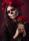 Fotografie Fantazie Hallowen Make-upu.