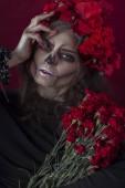 Fantazie Hallowen Make-upu.