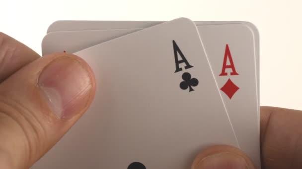 krásný Poker v ruce