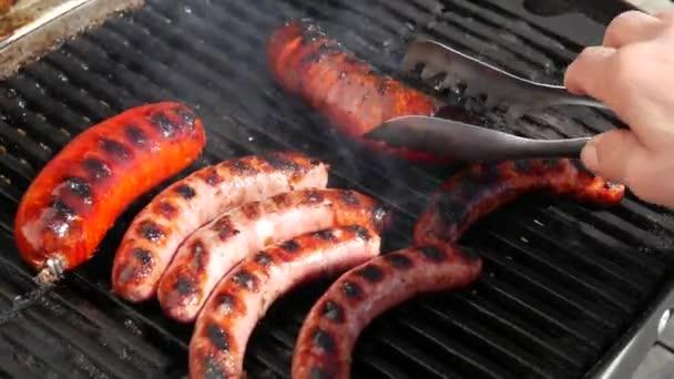kolbász és a barbecue chorizo