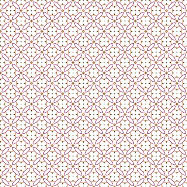 Seamless geometric ornamental vector pattern. Abstract background