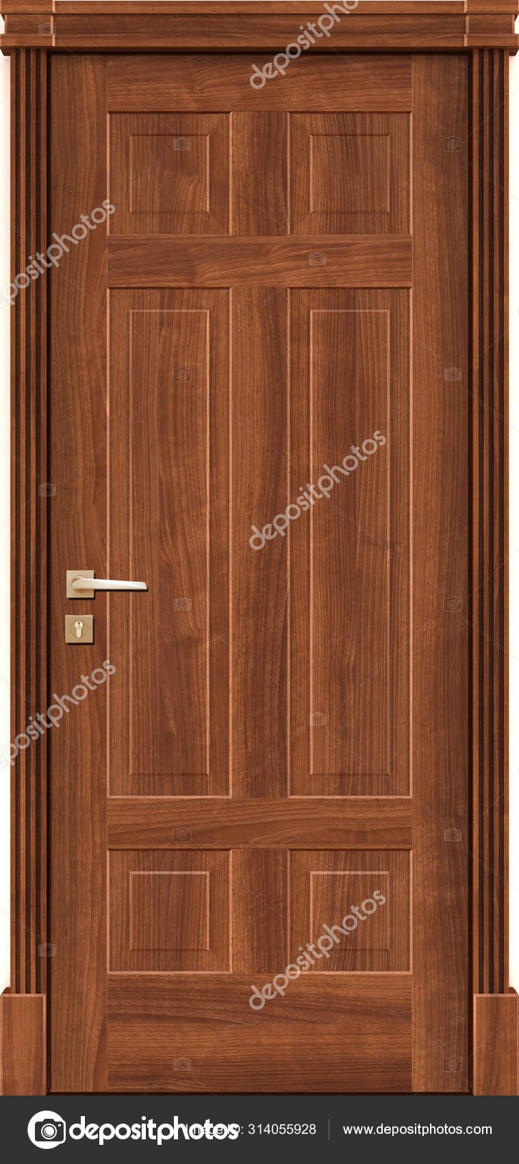 Door Texture Natural Oak Color Classic Interior Render Stock Photo C Aliyevrafail982 Gmail Com 314055928