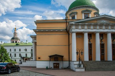 The first Moscow prince Daniel founded the Danilov Monastery on the banks of the Moskva River in 1281. The monastery served as a fortress outpost on the outskirts of Moscow.