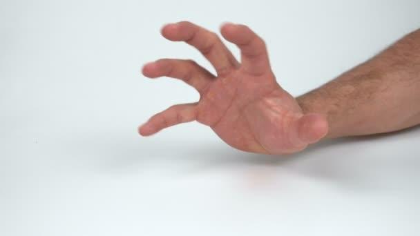 Mans děsivé ruka