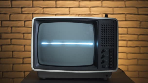 Videó a retro TV az analóg televízió