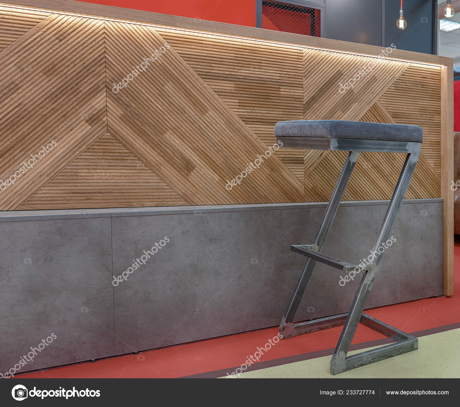 Sedia Pannelli Alta Counter Telaio Con Bar Decorato Legno Fatta wOPkn0