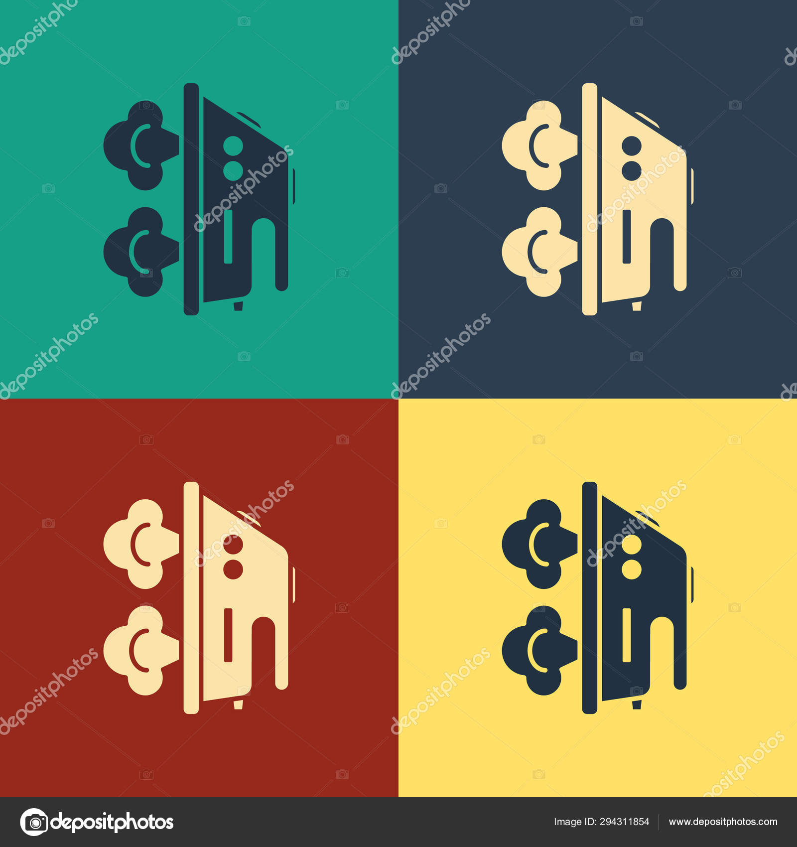 drawing games on steam Color Electric Iron Icon Isolated On Color Background Steam