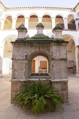 Convent of San Antonio Courtyard, currently Town Cultural Centre of Almendralejo, Badajoz, Spain