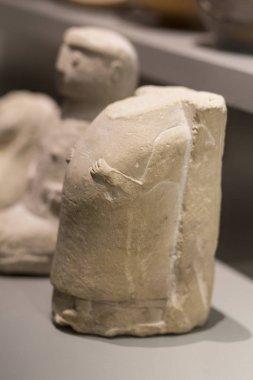 Pregnant female votive offering. Iberian Culture, 2nd Century BC