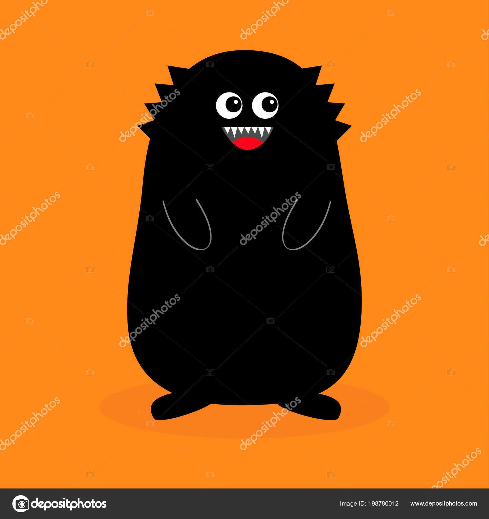Czarny kogut potwora