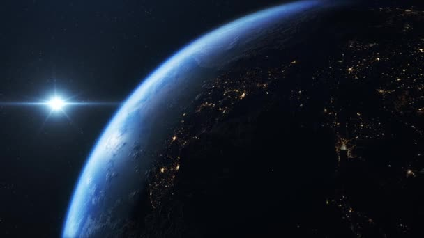 India seen from space in 4 K