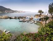 Malebný pohled na ostrově Milos, Řecko