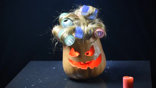 Halloween Pumpkins in the image of man