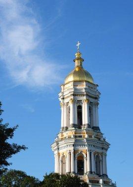 Great Bell Tower of the Kiev-Pechersk Lavra. Kiev, Ukraine