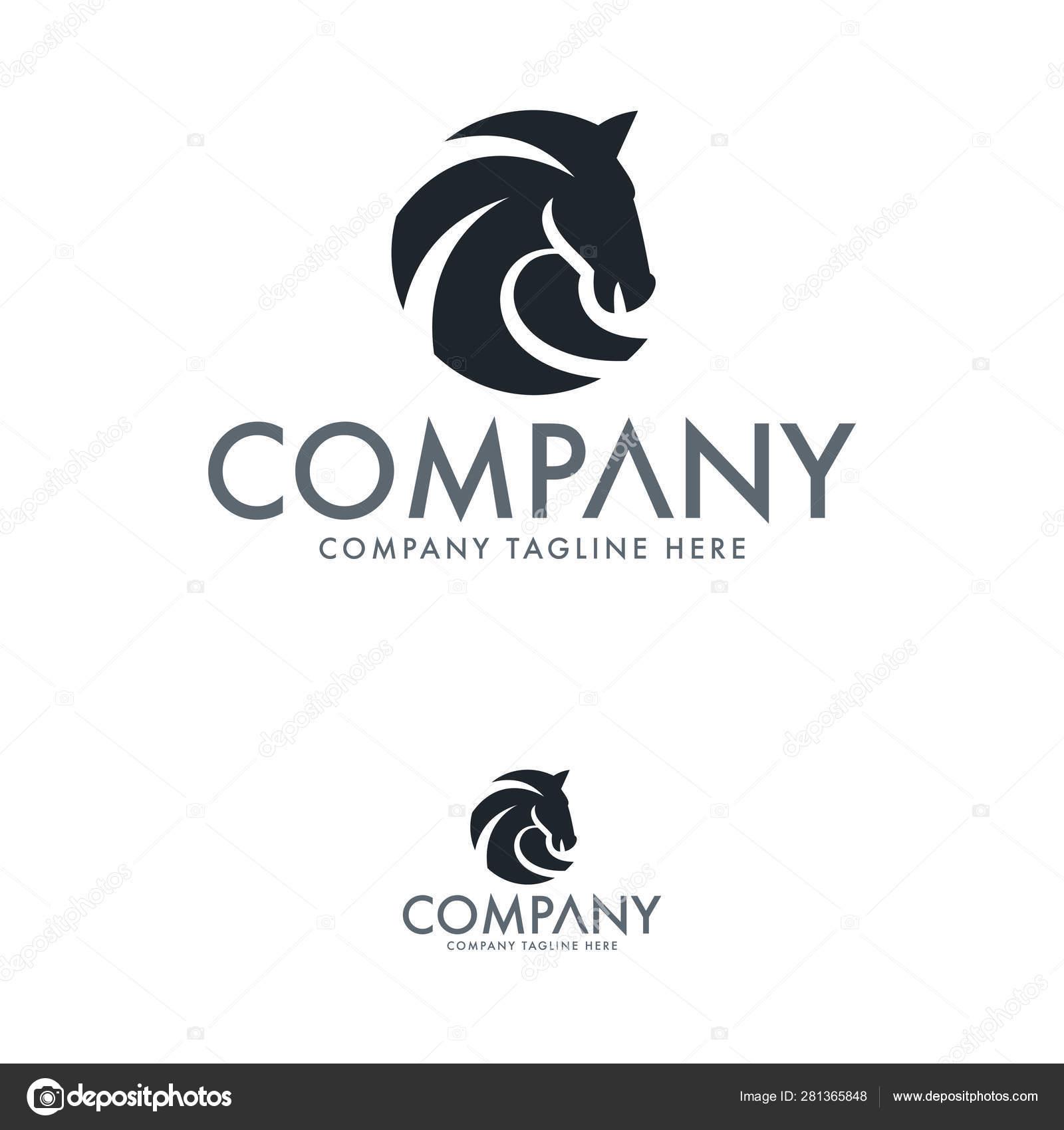Creative Horse Logo Design Template Stock Vector C Bsgrap 281365848