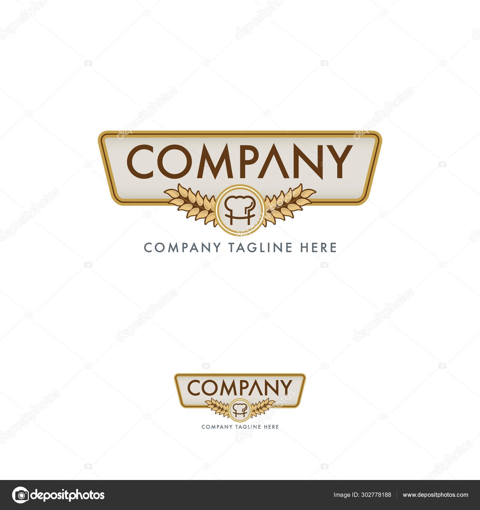 Creative Baker Restaurant Logo Design Template Stock Vector C Bsgrap 302778188