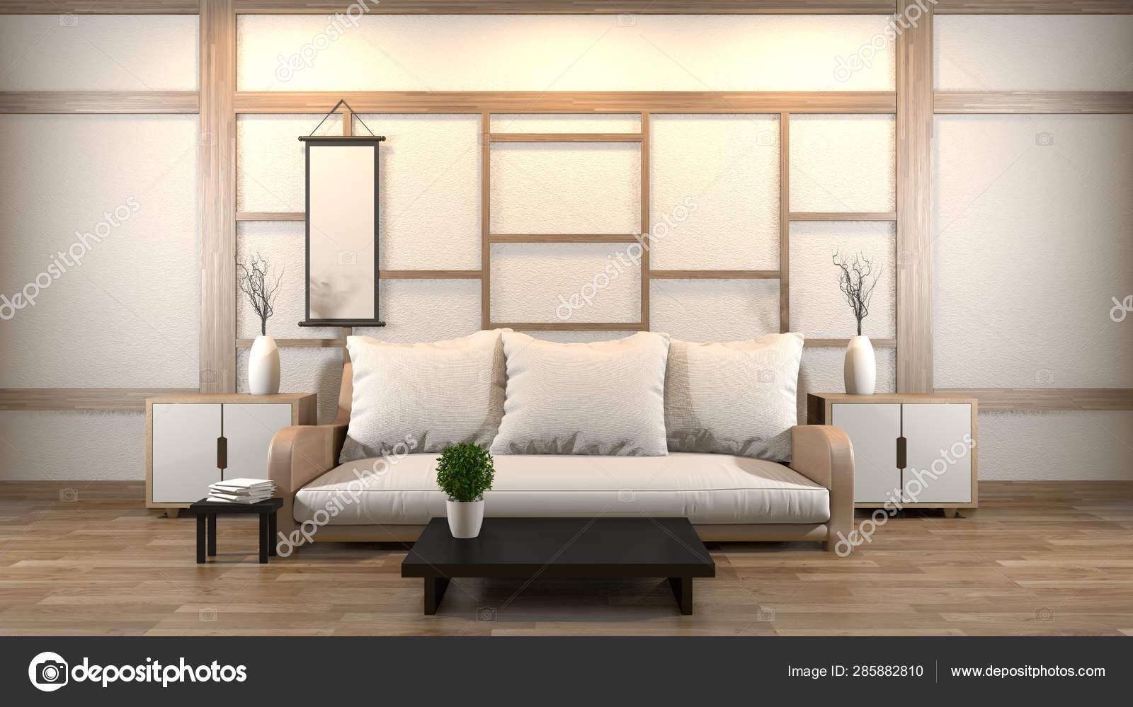 Interior Design Zen Living Room With, Zen Living Room