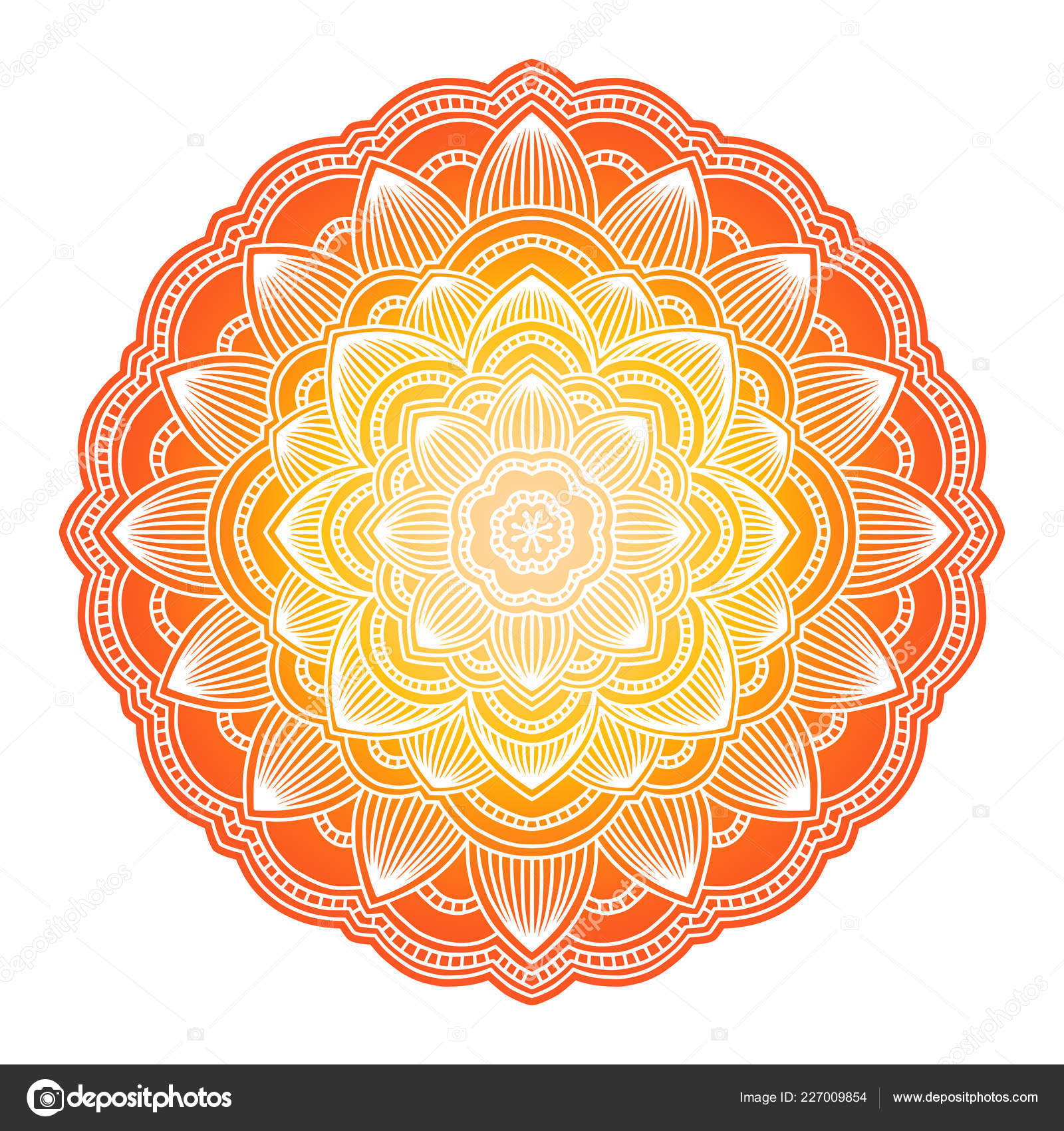 depositphotos stock illustration gra nt mandala circle ethnic ornament