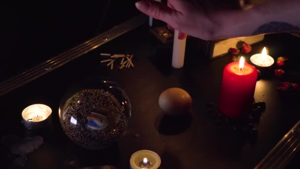 Tarot Cards Seance Black Magic Future Prophecy Mystic Ritual Oracle Medium Psyhic Esoteric Halloween Paranormal