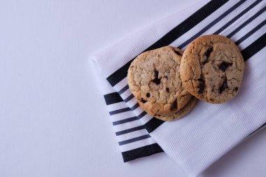 Classic American chocolate cookies.