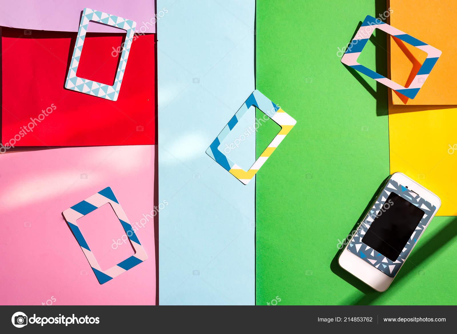 Multicolore Plastica Copre Indietro Per Telefoni Cellulari E