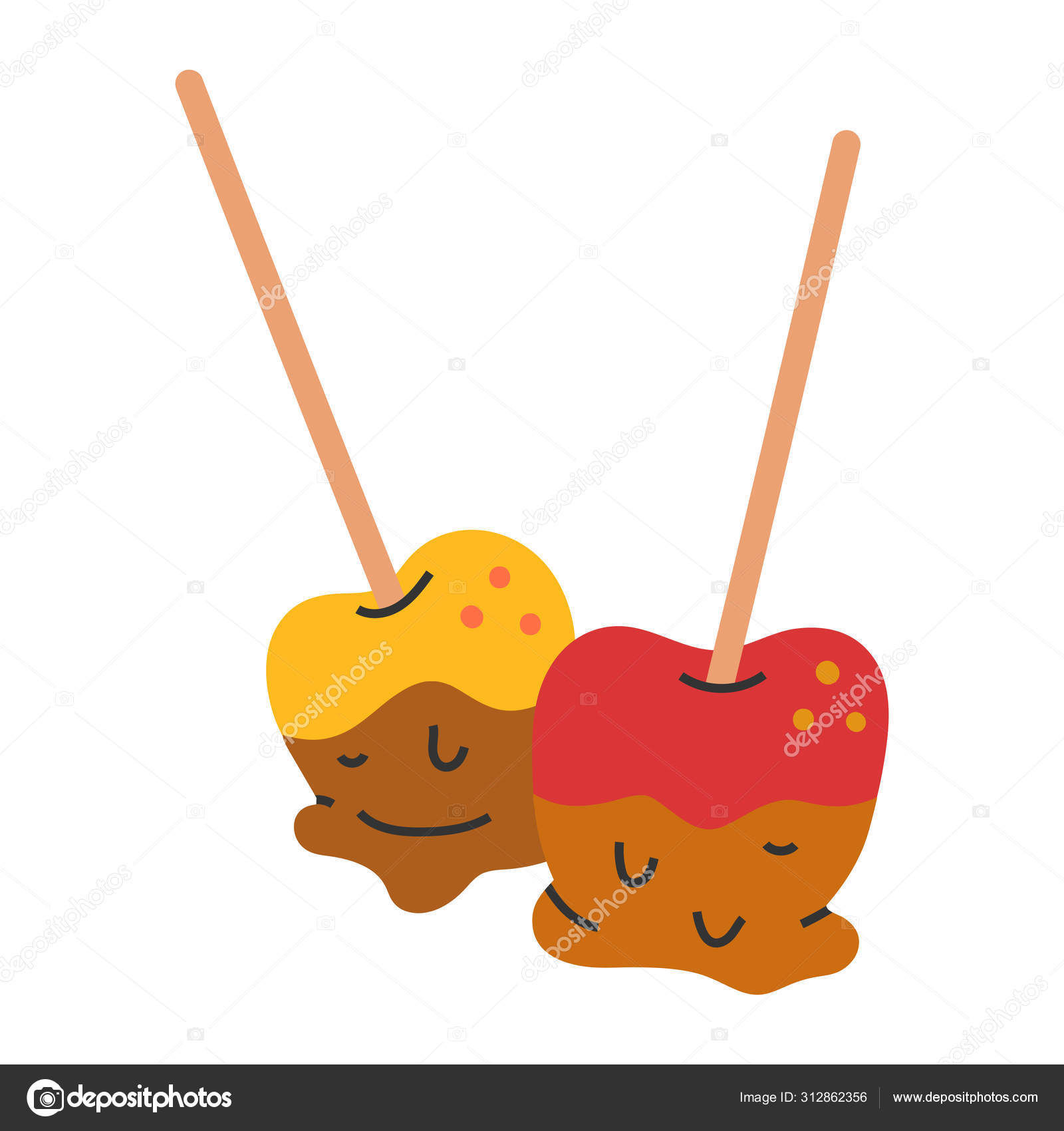 Caramel Apple Sketch Vector Images Royalty Free Caramel Apple Sketch Vectors Depositphotos