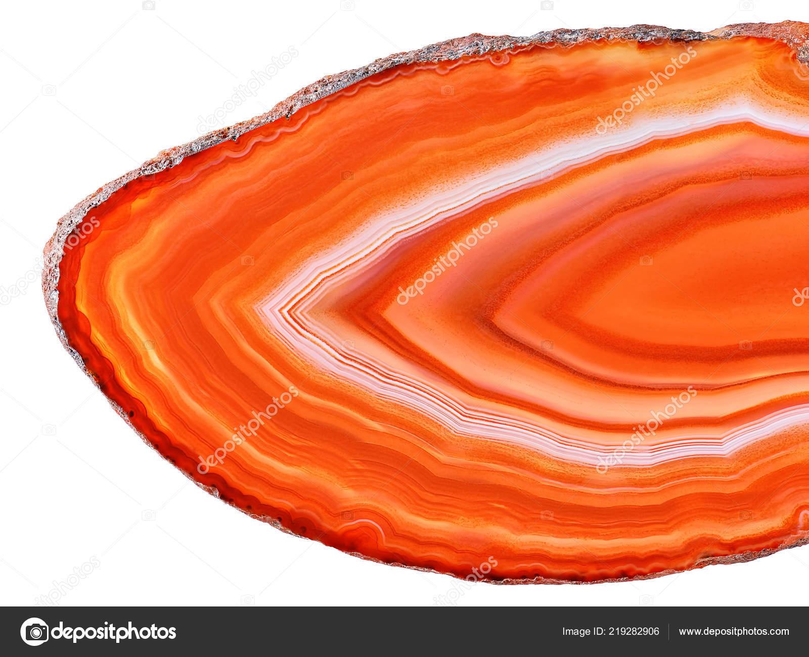 Orange Agate.