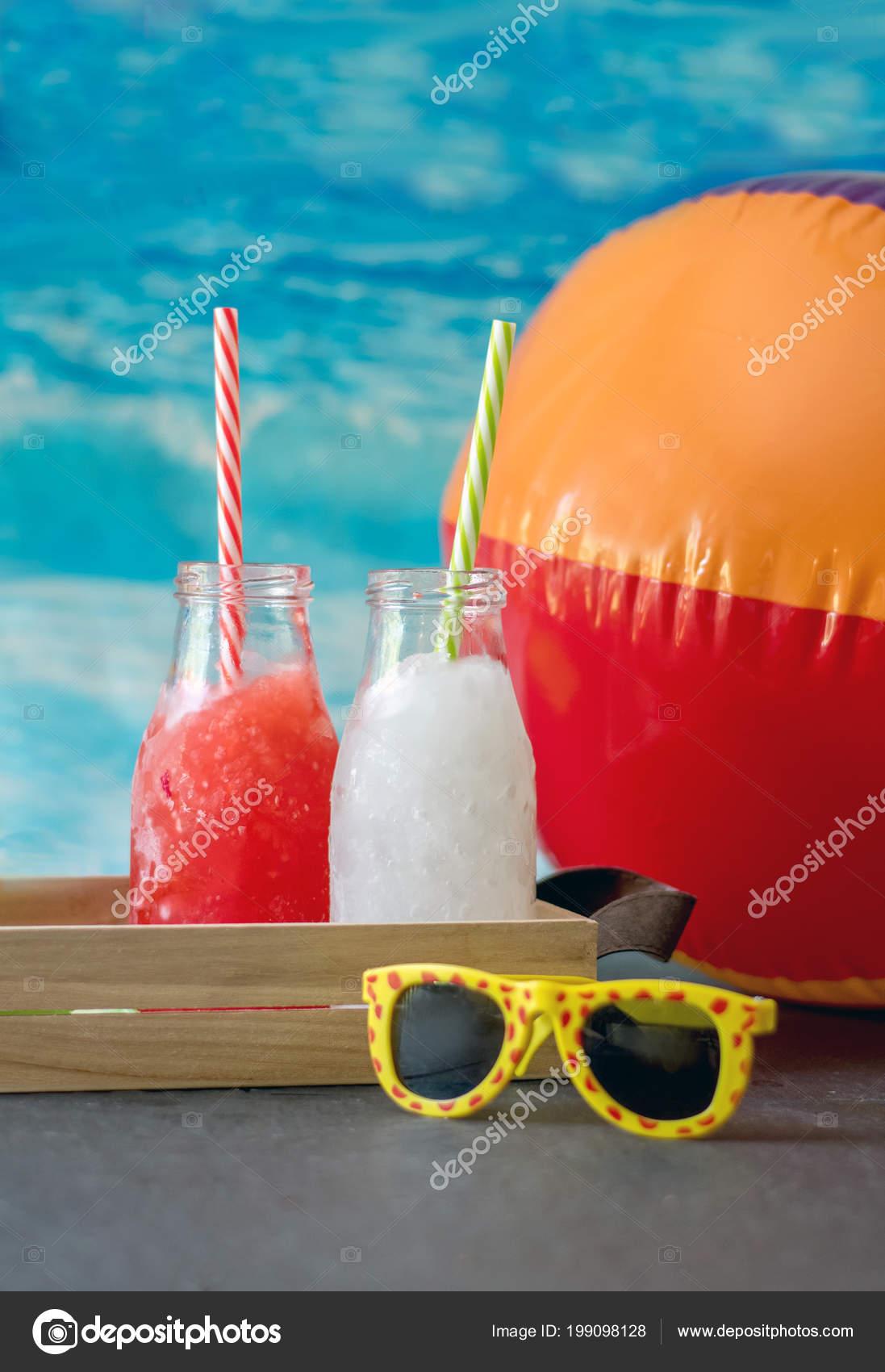 Ist Das Beste Getränk Einem Heißen Sommertag Frozen Slush Getränke ...