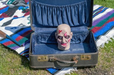 gruesome find in an old suitcase